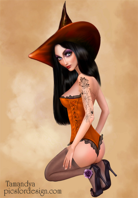 Erotic witch